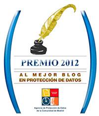 Premio al mejor blog en protección de datos